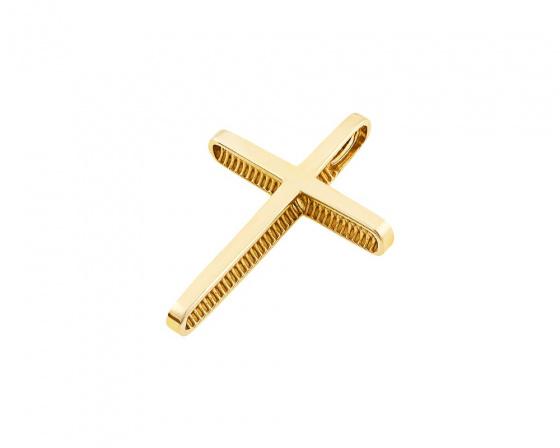 """Εικόνα του """"Χρυσός ανδρικός σταυρός Κ14, T03419"""""""