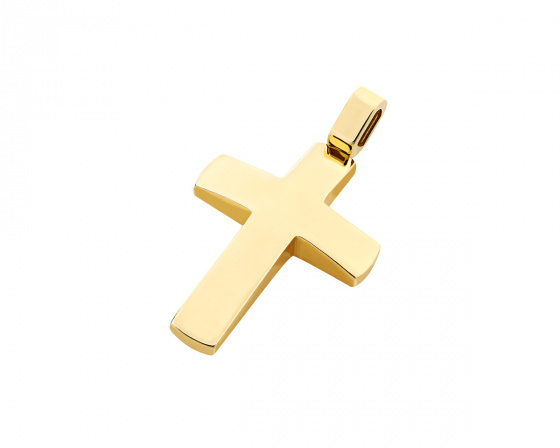 "Image of ""Gold men's cross Κ14, T03719"""