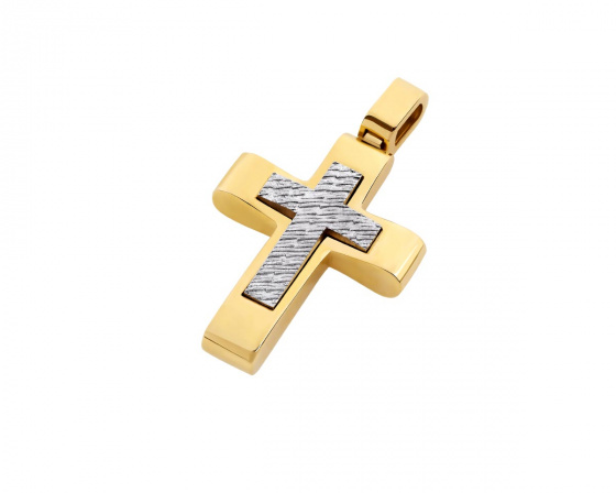 """Εικόνα του """"Χρυσός ανδρικός σταυρός Κ14, T03819"""""""