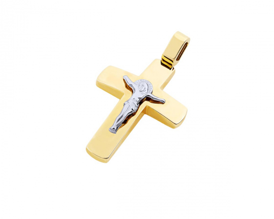 "Image of ""Gold men's cross Κ14, T04319"""