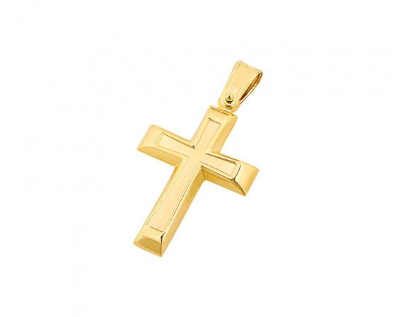 """Εικόνα του """"Χρυσός ανδρικός σταυρός Κ14, T02719"""""""