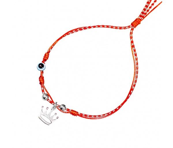 """""""Princess Crown"""" silver March bracelet"""