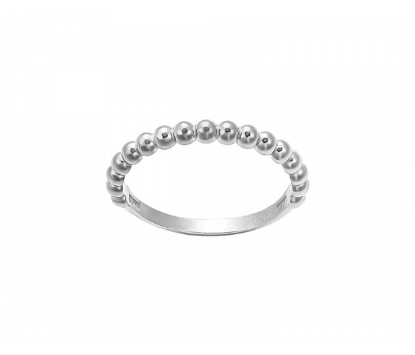 """Pendulum Swing"" silver ring"