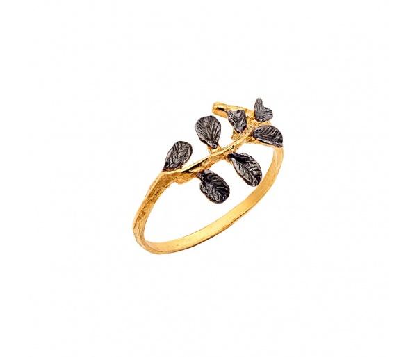 """Ασημένιο δαχτυλίδι """"Tree Branch"""""""