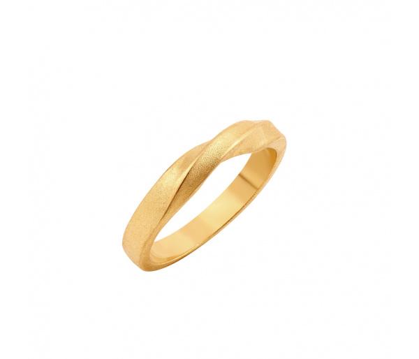 """Mrs Bond"" silver ring"