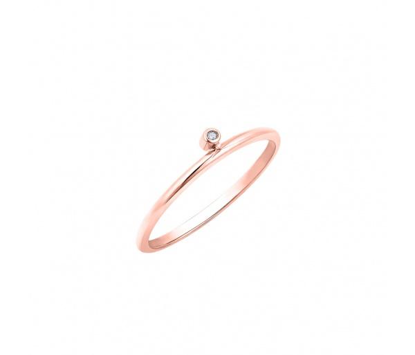 """Ασημένιο δαχτυλίδι """"Discreet"""""""