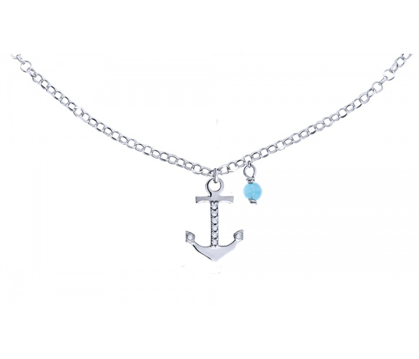 """Mistress of the Sea"" foot chain"