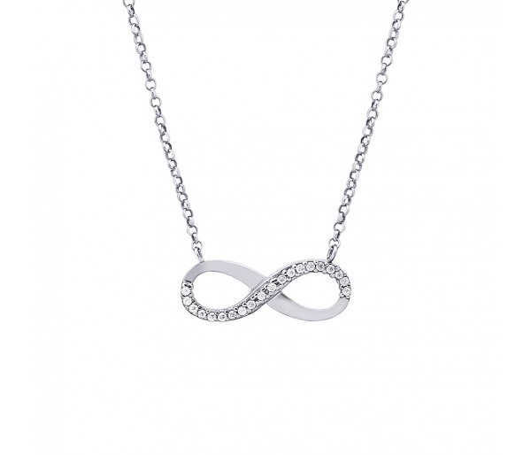 """Infinity"" necklace"