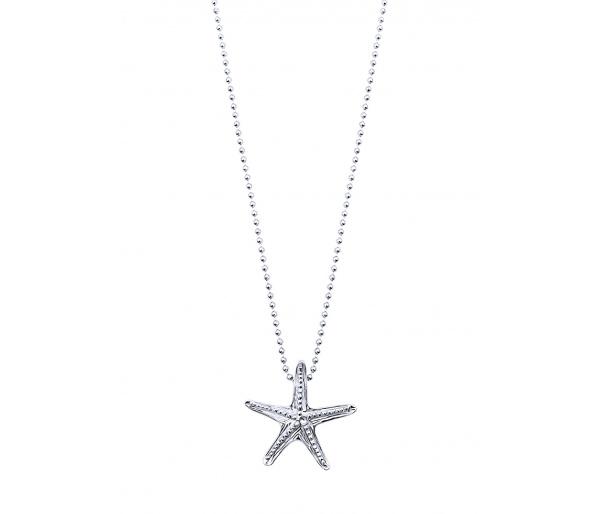 """Starfish #2"" necklace"