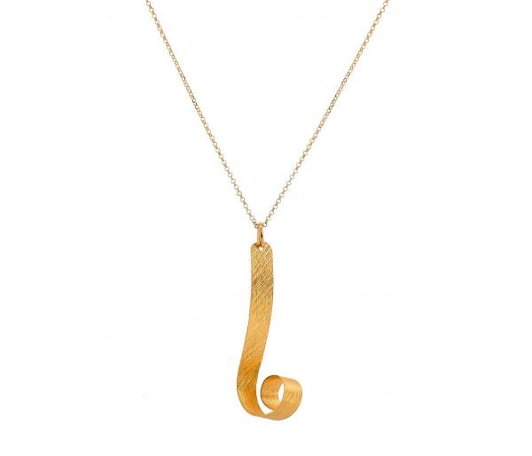 """Deep Ocean Waves"" necklace"