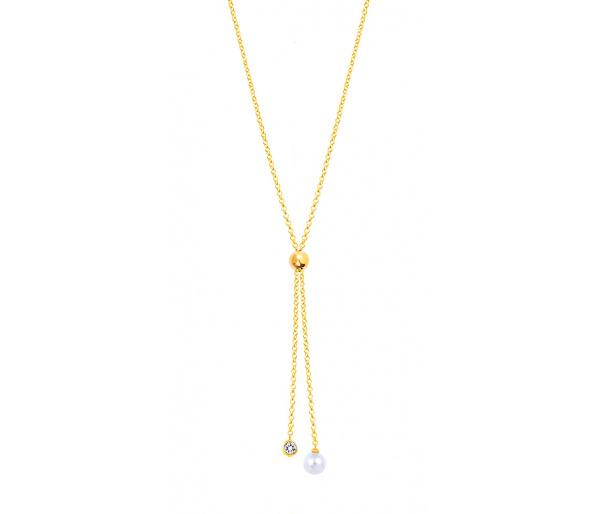 """""""Extravagant"""" silver necklace"""