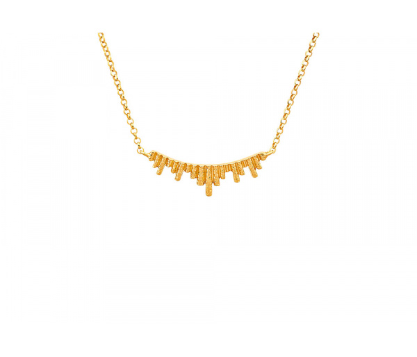 """""""Ventalia #1"""" silver necklace"""