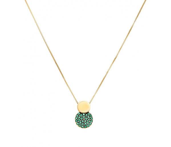 """Planet"" necklace"