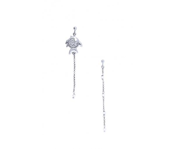 """""""Ocean Life #3"""" earrings"""