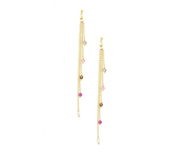 """""""Rainbow Gems"""" earrings"""