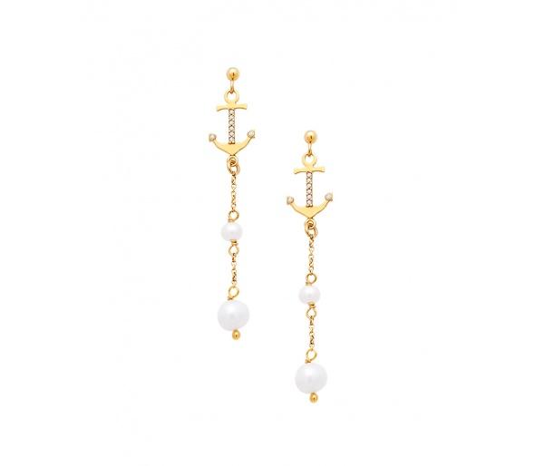 """""""Mistress of the Sea"""" earrings"""