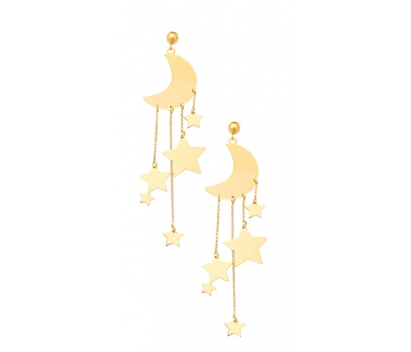 """A Night Full of Stars"" earrings"