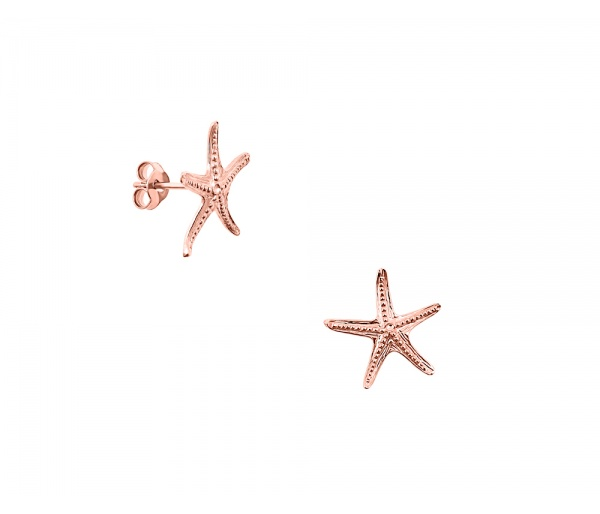 """Starfish #2"" earrings"