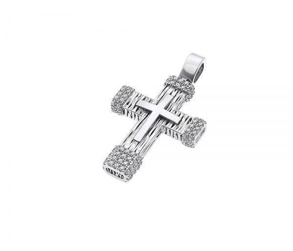 Χρυσός σταυρός γυναικείος Κ14, H134