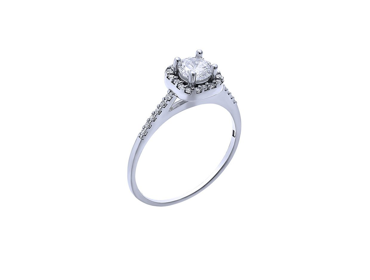"""Image of """"""""Majesty"""" silver ring"""""""