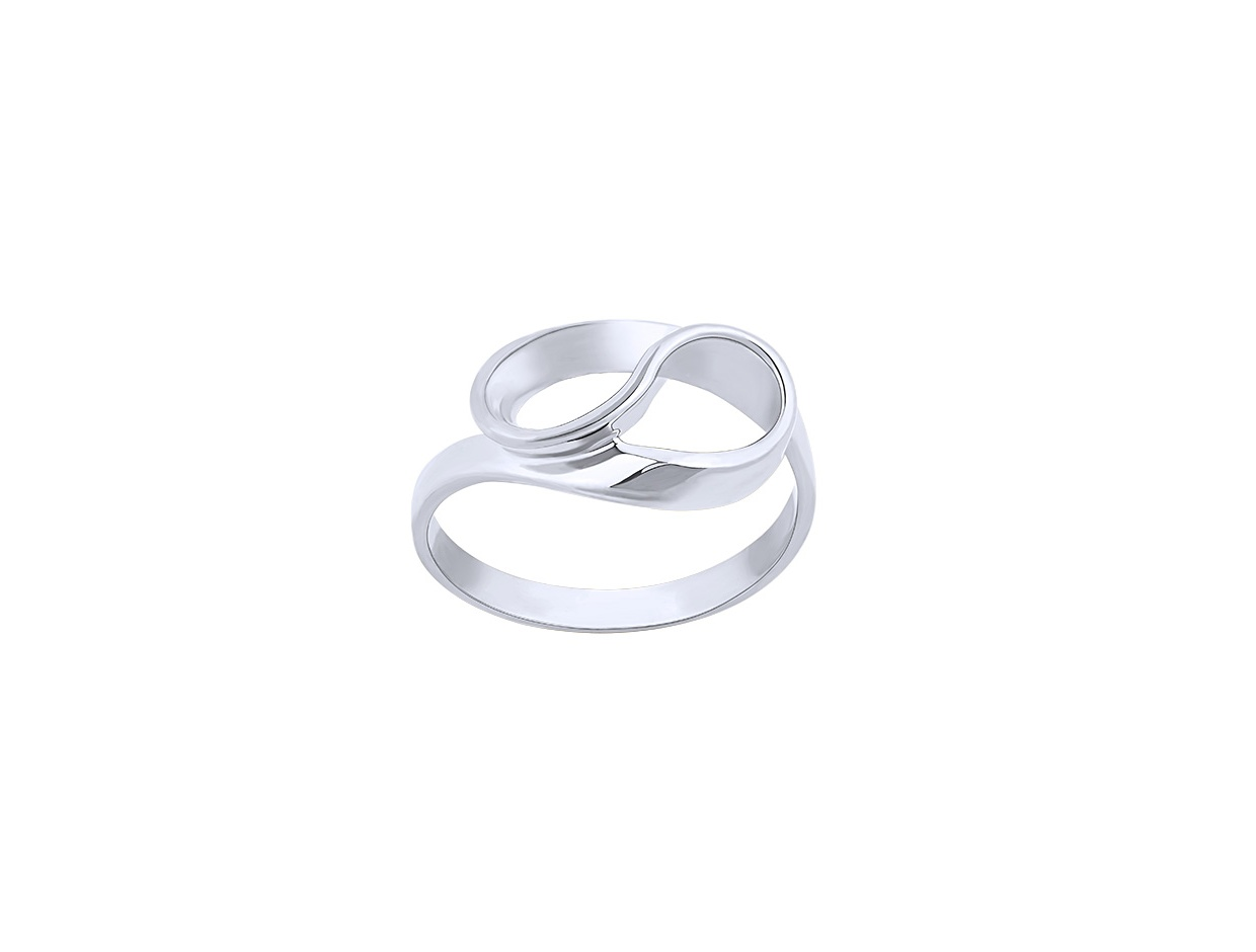 "Image of """"Infinito"" silver ring"""