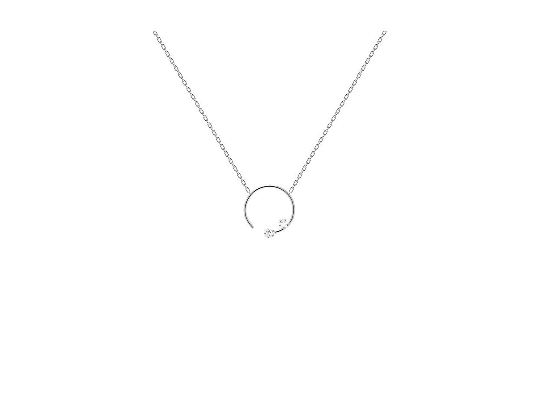 "Image of ""PDPAOLA ""Vela"" silver necklace, CO02-057-U"""