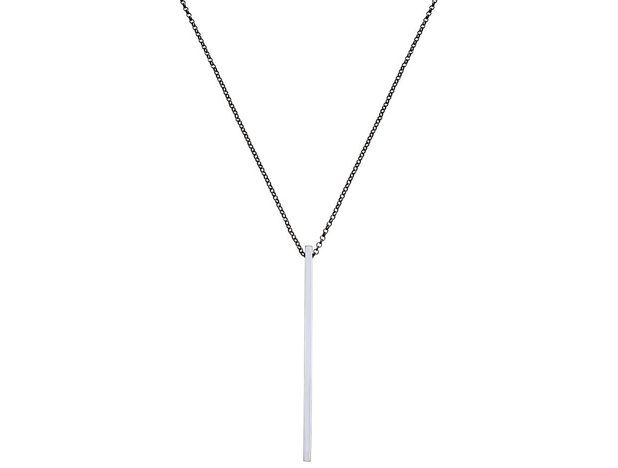 """Image of """"""""Nail"""" silver necklace"""""""