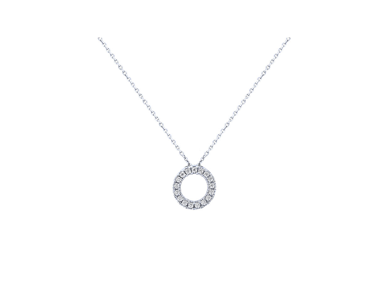 "Image of """"Ravishing"" silver necklace"""