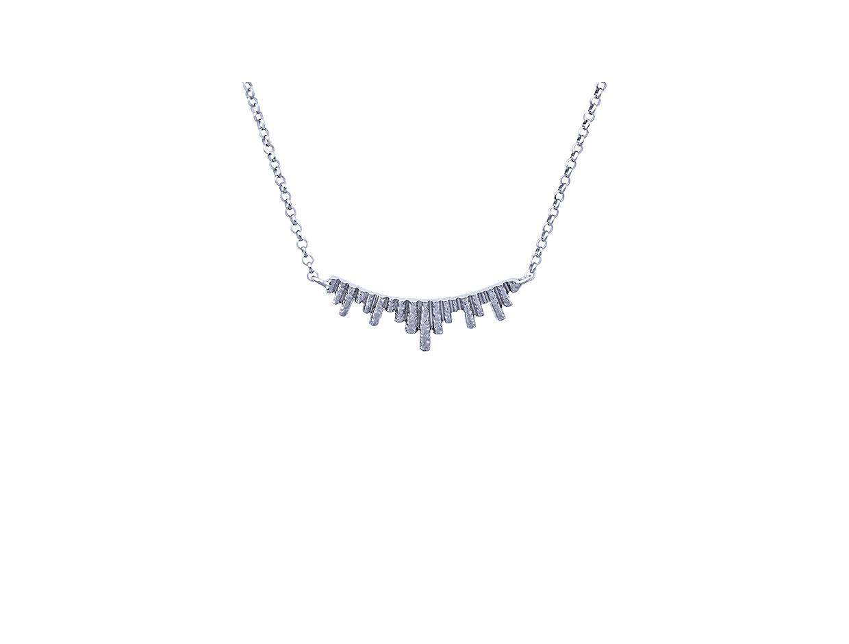 "Image of """"Ventalia #1"" silver necklace"""