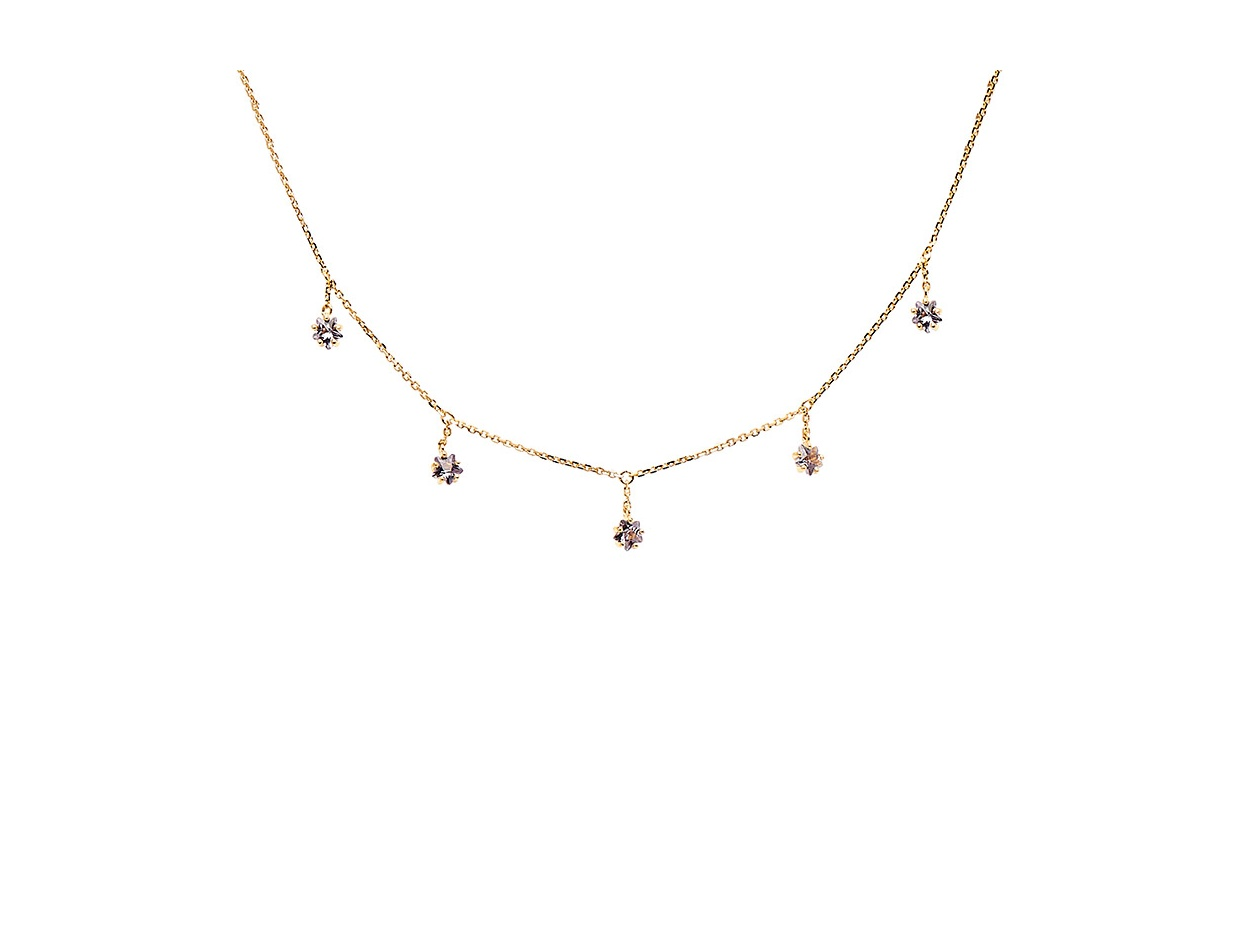 """Image of """"PDPAOLA """"Halley"""" silver necklace gold plated"""""""