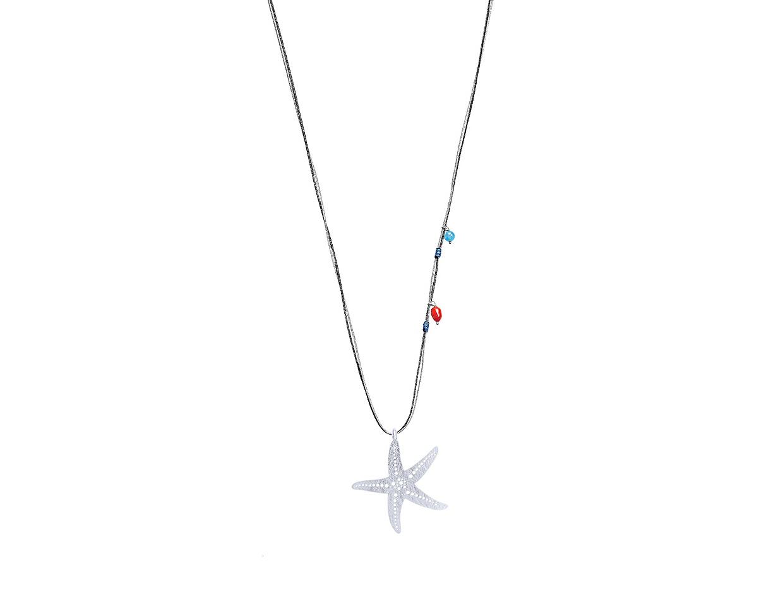 "Image of """"Ocean King #2"" silver pendant"""