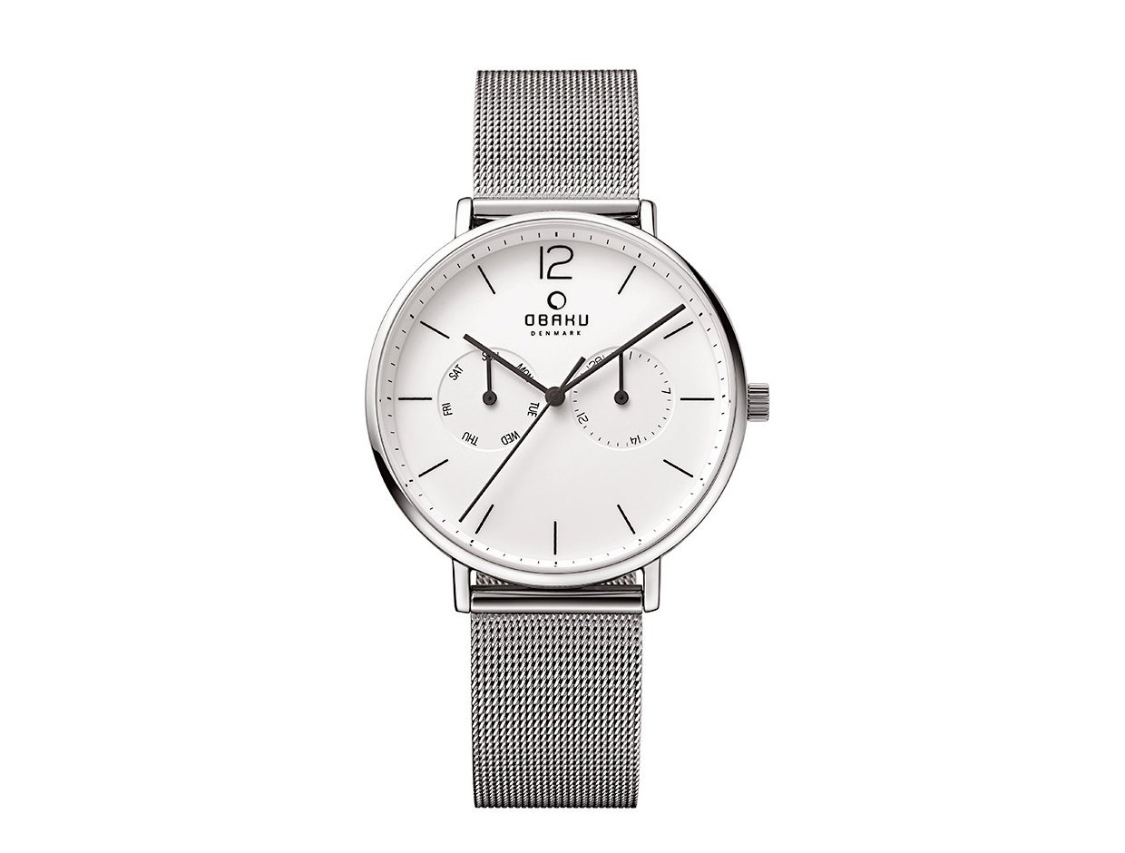 "Image of ""OBAKU Flod V182GMCWMC Men's Bracelet Watch"""