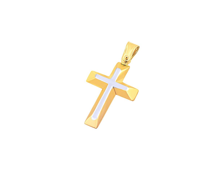 """Εικόνα του """"Χρυσός ανδρικός σταυρός Κ9, T02019"""""""