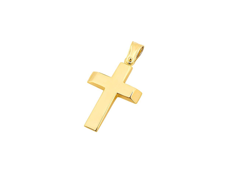 """Εικόνα του """"Χρυσός ανδρικός σταυρός Κ14, T00719"""""""
