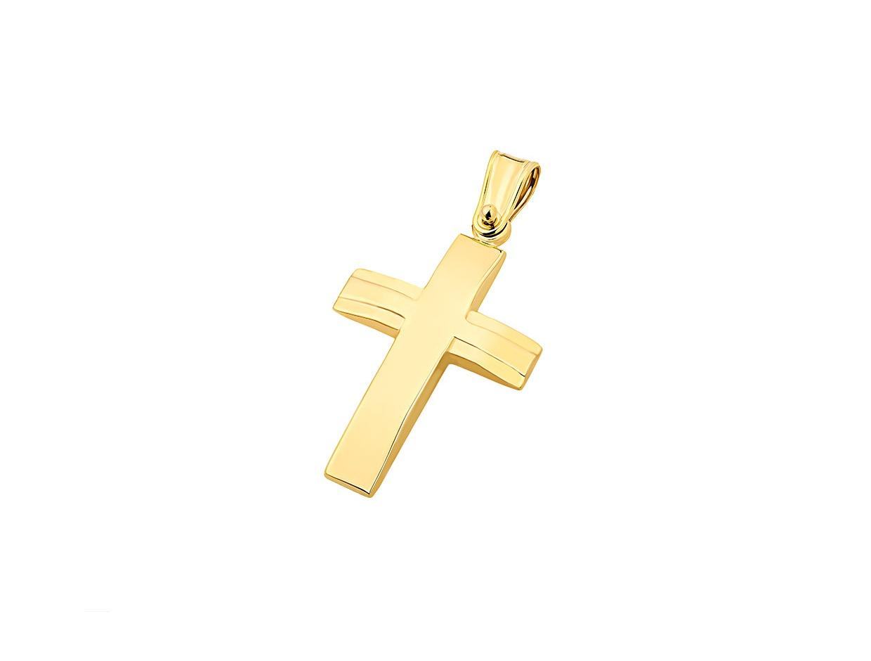 """Εικόνα του """"Χρυσός ανδρικός σταυρός Κ9, T02219"""""""