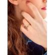 "Image of """"Eternity Plus 041"" rose gold engagement ring K14"""