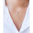 "Image of """"Starfish #2"" rose gold K9 pendant"""