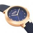 """Εικόνα του """"VERSUS Batignolles VSPLJ0419 Γυναικείο Ρολόι με Μπλε Δερμάτινο Λουρί"""""""