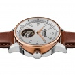 "Image of ""INGERSOLL Miles I08001 Men's Automatic Watch with Brown Leather Strap"""
