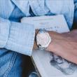 """Εικόνα του """"JCOU Aurora JU19040-2 Γυναικείο Ρολόι με Μπρασελέ"""""""