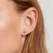 "Image of ""PDPAOLA Zodiac Aquarius silver earrings gold plated, AR01-402-U"""