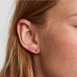 "Image of ""PDPAOLA Zodiac Aries silver earrings gold plated, AR01-404-U"""